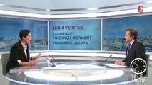Les 4 vérités : Laurence Tiennot-Herment, présidente de l'AFM-Téléthon, appelle les Français au don