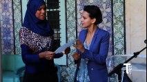 En Tunisie : Remise de diplômes de Français à des jeunes filles apprenant le Français