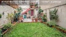 A vendre - maison - SURESNES (92150) - 6 pièces - 127m²
