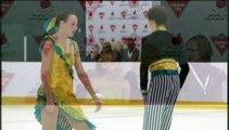 Tocher / Haubrich - Pre-Novice Free Dance (REPLAY)