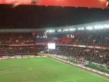 PSG - St-Etienne : Fumi / Tifo ATKS
