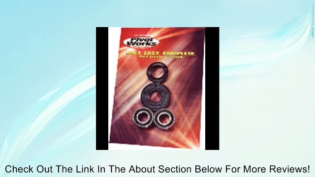 Pivot works pwrwk-s13-021 rear wheel bearing kit rm125/ 250 (PWRWK-S13-021) Review
