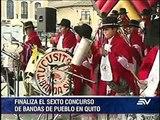 Banda de San Agustín de El Tingo ganó el concurso de Bandas de Pueblo