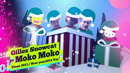 "Video News Spin-off#23 雪猫ジル Gilles Snowcat ""moko moko 2013 Xmas/2014 news year ver."""