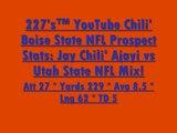 227's™ YouTube Chili' Boise State NFL Prospect Stats Jay Chili' Ajayi vs Utah State NFL Mix!