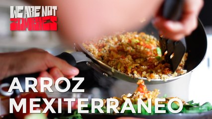 Arroz Mexiterráneo | Fast, Healthy & Yummy