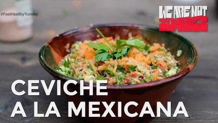 Ceviche a la Mexicana | Fast, Healthy & Yummy