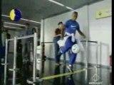 Pub Nike avec Brésil à l' aéroport