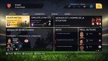 FIFA15 Carrière - Arsenal -25 ans #6 : Ah les barres transversales