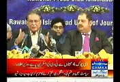 Pervez Rasheed Criticize Imran Khan In His Press Conference - 6th December 2014
