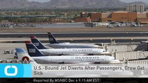 U.S.-Bound Jet Diverts After Passengers, Crew Get Sick