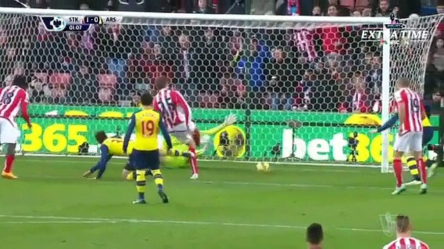 VIDEO Stoke City 3 - 2 Arsenal [Premier League] Highliights - Soccer Highlights Today - Latest Football Highlights Goals Videos