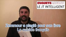 JT Intelligent n°33 : Eric Zemmour a plagié pour son livre Le suicide français