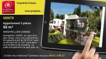 A vendre - appartement - MONTPELLIER (34000) - 3 pièces - 66m²