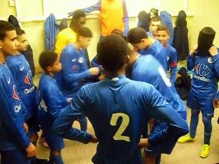 Victoire des u15(2) à domicile contre Belleville [sam 06/12/ 2014]
