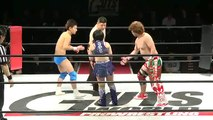 Bungee Takada & Ryouya Akiba vs. Amigo Suzuki & Mirco (Guts World)