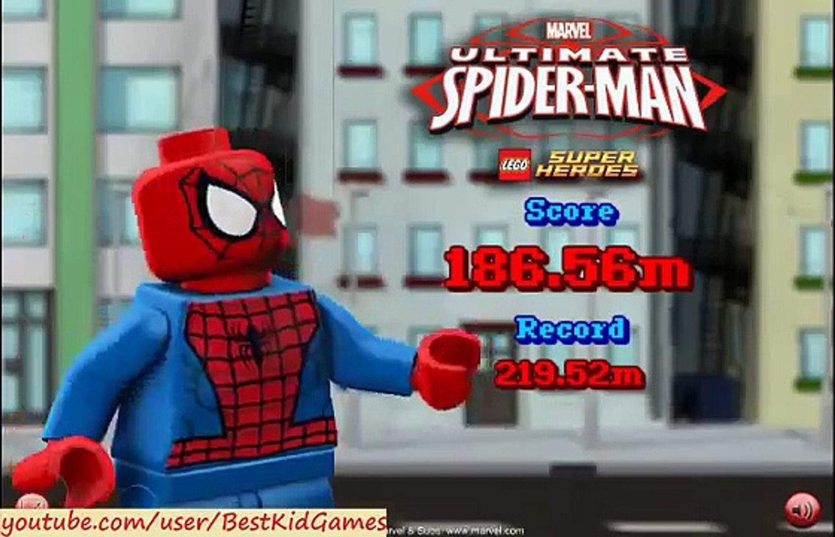 Lego Game, LEGO Ultimate SpiderMan Game , New Lego Game