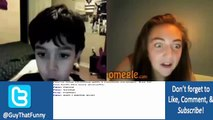Omegle Pranks - Fake Kid Trolling (Omegle Funny Moments)