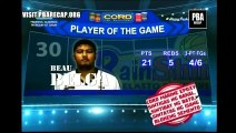 Beau BELGA Player of the game Barangay Ginebra San Miguel VS Rain or Shine Elasto Painters December 7, 2014