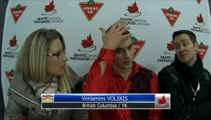 Veniamins Volskis BC/YK - Novice Men Free Program (REPLAY)
