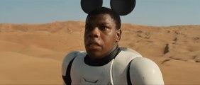 Parodie du Trailer STAR WARS The Force Awakens en mode DISNEY