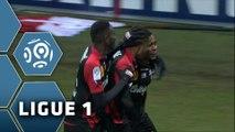 But Christophe MANDANNE (47ème) / Stade de Reims - EA Guingamp (2-3) - (SdR - EAG) / 2014-15