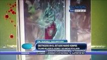 Los hinchas de Talleres hicieron destrozos en Córdoba