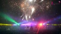 Saint-Nicolas : Spectacle pyrotechnique 2014 sur la Place Stan à Nancy