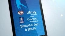 US Ivry Handball / Chartres Métropole 28 - ProD2 Handball replay
