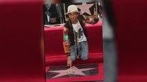 Pharrelll Williams tiene suerte y recibe una estrella en el Paseo de la Fama en Hollywood
