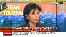 """Un Manuel Valls """"pathétique"""", juge Rachida Dati"""