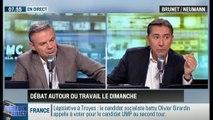 """Brunet & Neumann : Travail du dimanche : """"La révolution socialiste est en route"""" - 08/12"""
