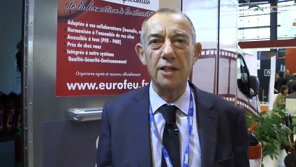 Expoprotection 2014 - interview exposant : Eurofeu