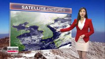 Clear skies nationwide with warmer temperatures