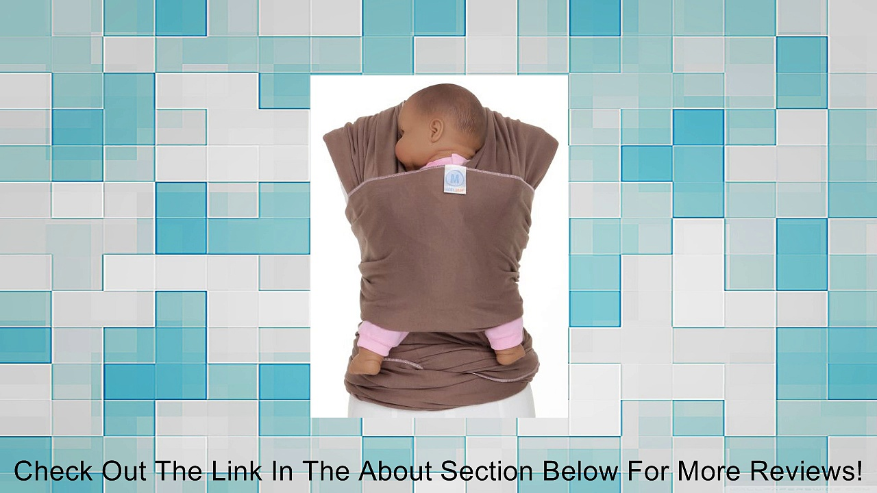 Moby Wrap Original 100% Cotton Solid Baby Carrier Review