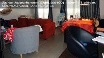A vendre - appartement - CREIL (60100) - 3 pièces - 80m²