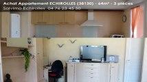 A vendre - appartement - ECHIROLLES (38130) - 3 pièces - 64m²