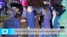 Prince William & Kate's Tour of New York City, D.C.
