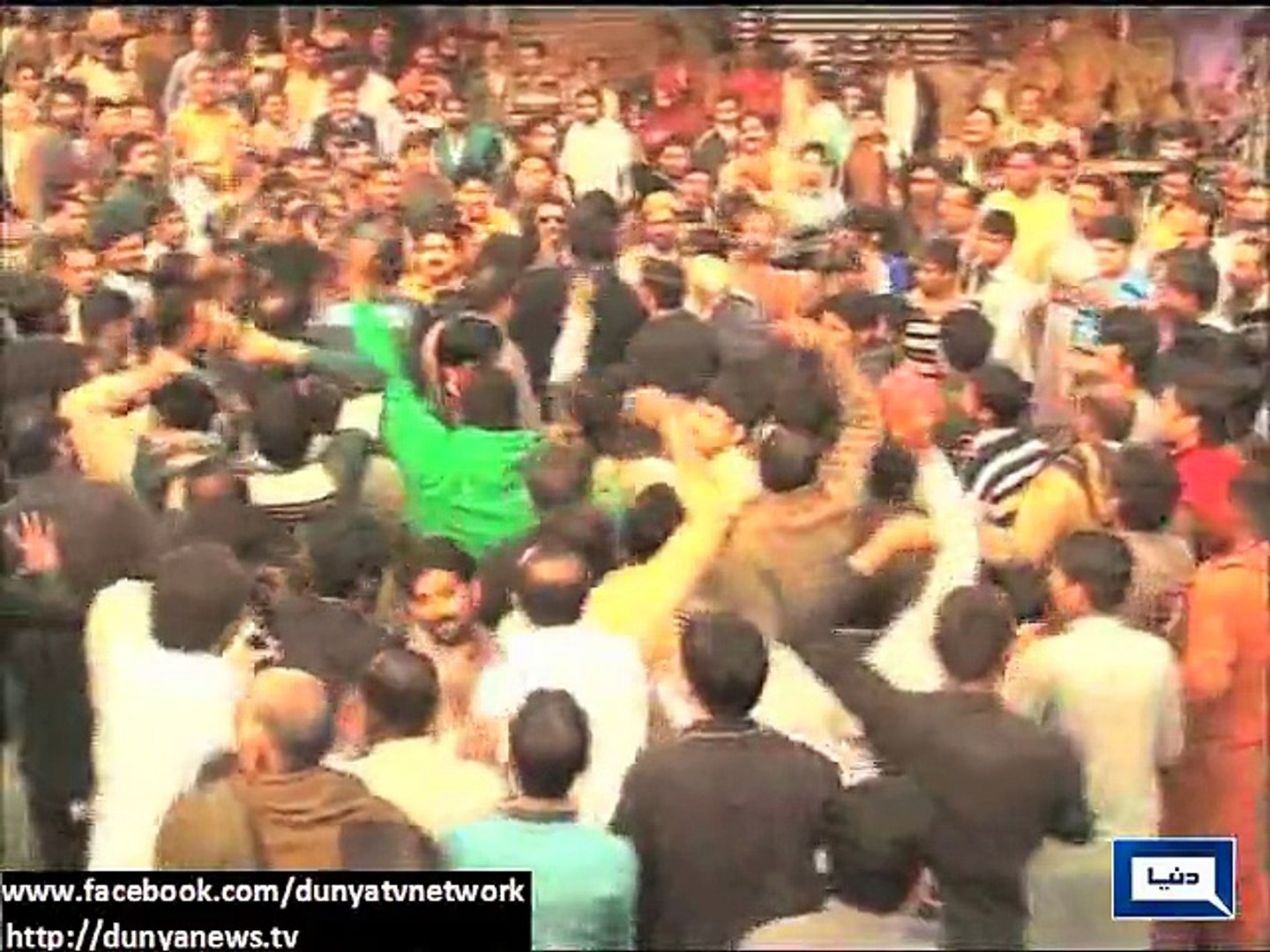 Dunya News - Political issues come to roads