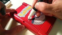 Transformation d'une Game Boy en version pokémon