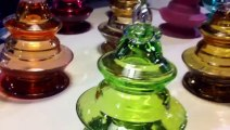 Fabrication des boules de Noël à Meisenthal