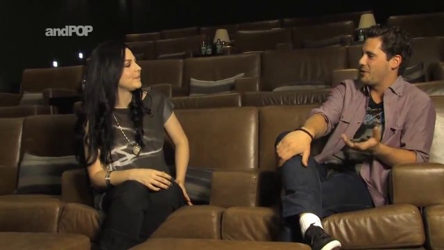 andPOP - Small Talk with Evanescence's Amy Lee - Amy Lee Is A Nice Person