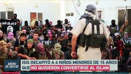 ISIS decapita a 4 niños por no convertirse al Islam - 15POST