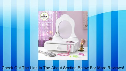 White Tabletop Vanity Review