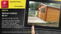 A vendre - maison - SALLES D AUDE (11110) - 4 pièces - 90m²