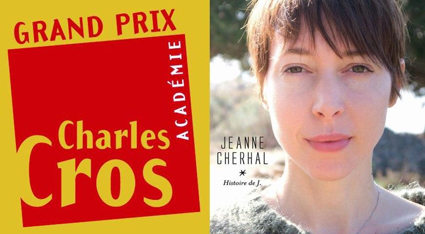 Jeanne Cherhal Grand Prix chanson de l'Académie Charles Cros 2014
