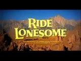 1959 - Ride Lonesome - Randolph Scott; Pernell Roberts; James Coburn