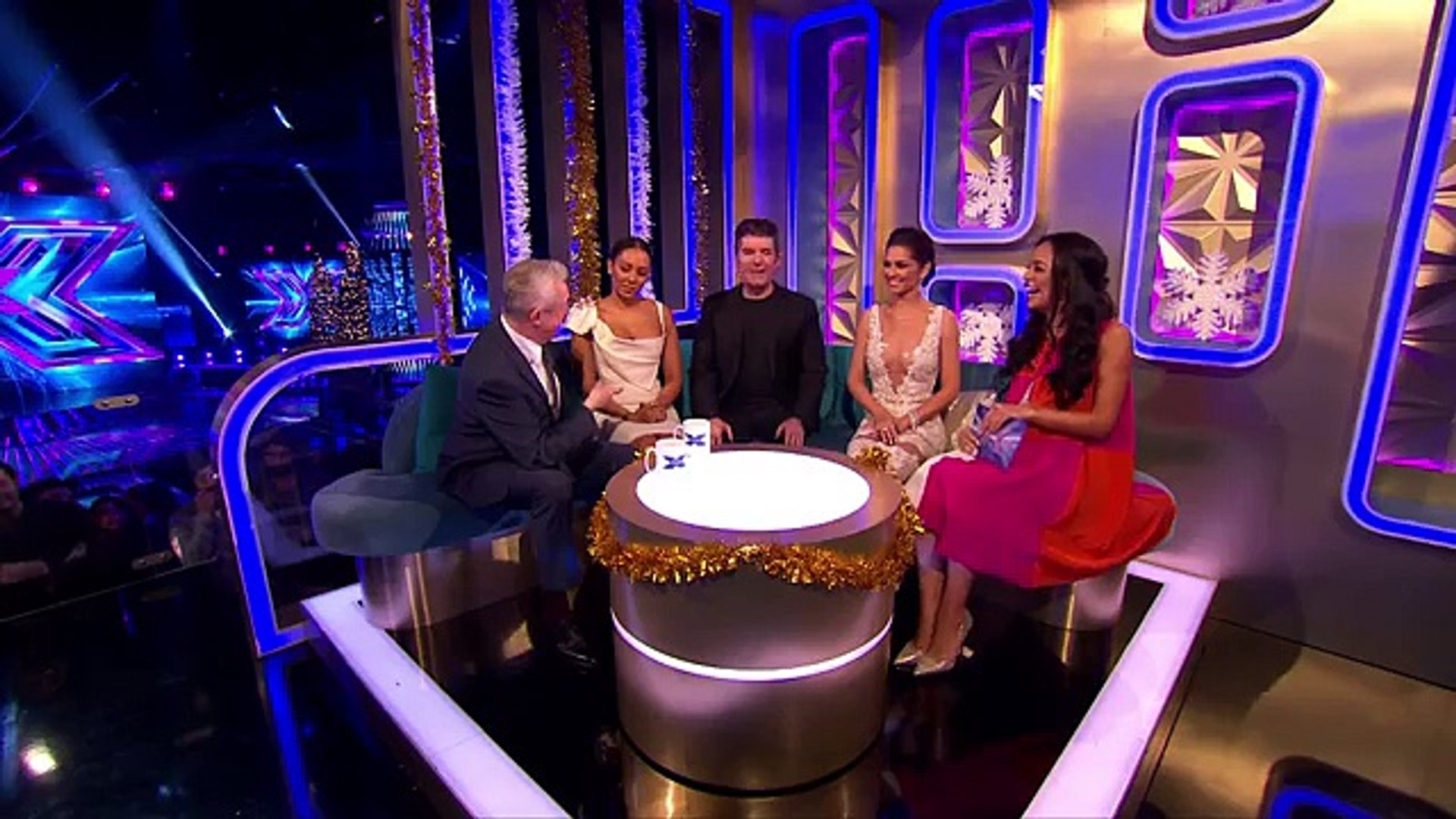Its those naughty Judges again  The Xtra Factor UK 2014- OFFICIAL CAHNNEL
