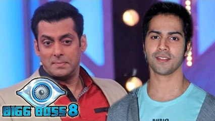 Bigg Boss 8 | Varun Dhawan Promotes Badlapur  On Salman Khan's Show