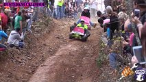 Crashes, mud and race in this EXTREME BARBIE JEEP RACING 2014